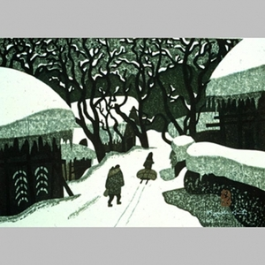 Kiyoshi Saito: Winter in Aizu, No. 14 - Art Gallery of Greater Victoria