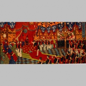 安達吟光: Imperial Audience with Meiji Emperor - Art Gallery of Greater Victoria