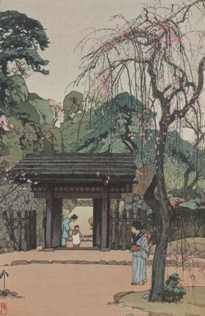 Yoshida Hiroshi: Plum Gateway - Art Gallery of Greater Victoria