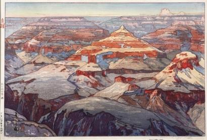 吉田博: Grand Canyon - Art Gallery of Greater Victoria