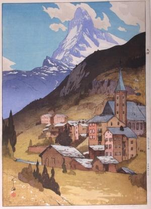 Yoshida Hiroshi: The Matterhorn - Art Gallery of Greater Victoria
