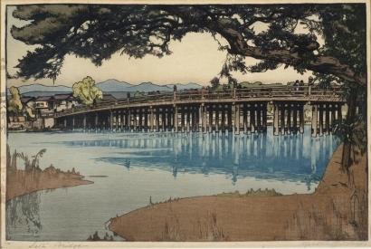 Yoshida Hiroshi: Seta Bridge - Art Gallery of Greater Victoria