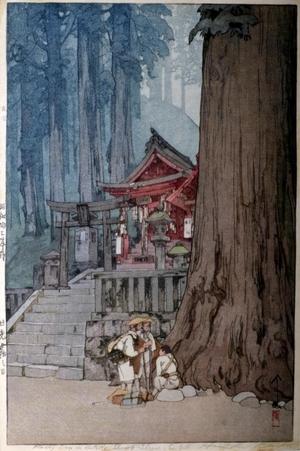 吉田博: Misty Day in Nikko - Art Gallery of Greater Victoria