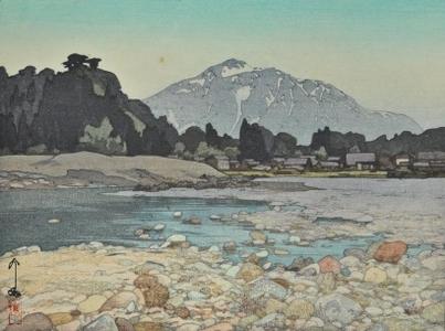 吉田博: Kajiyashiki - Art Gallery of Greater Victoria