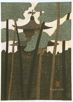 Kiyoshi Saito: Kinkaku-ji (Golden Pavilion, Kyoto) - Art Gallery of Greater Victoria