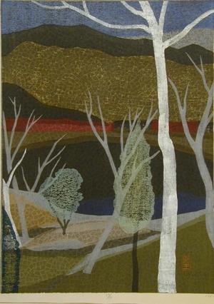 馬淵聖: Sanko (Mountain Lake) - Art Gallery of Greater Victoria