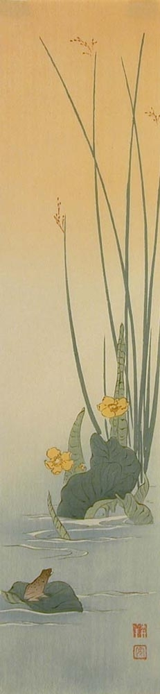 Koho: Frog on Lotus - Art Gallery of Greater Victoria