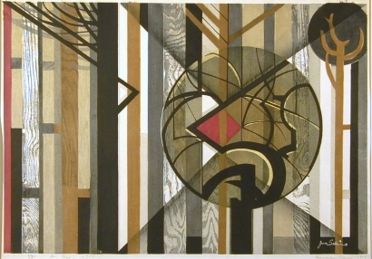 Junichiro Sekino: An Etude on Woods (No.4) - Art Gallery of Greater Victoria