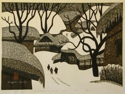 Kiyoshi Saito: Winter in Aizu, No. 13 - Art Gallery of Greater Victoria