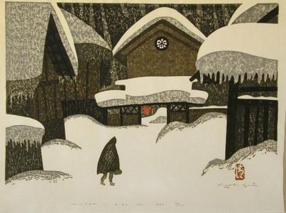 Kiyoshi Saito: Winter in Aizu, No. 12 - Art Gallery of Greater Victoria