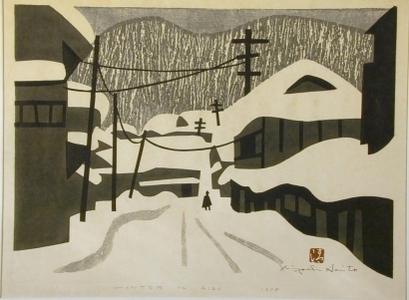 Kiyoshi Saito: Winter in Aizu, No. 17 - Art Gallery of Greater Victoria