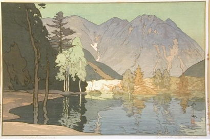 吉田博: Hodakadake - Art Gallery of Greater Victoria