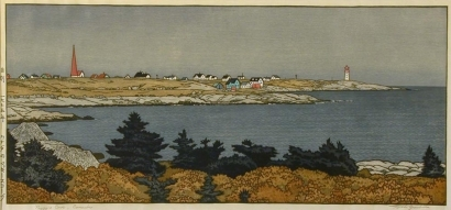 Yoshida Toshi: Peggy's Cove, Nova Scotia - Art Gallery of Greater Victoria