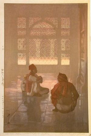 Yoshida Hiroshi: A Window in Fatehpur-Sikri - Art Gallery of Greater Victoria