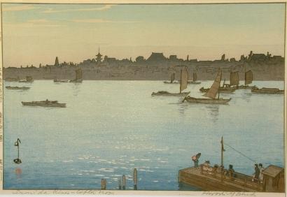 吉田博: Sumida River, Afternoon - Art Gallery of Greater Victoria