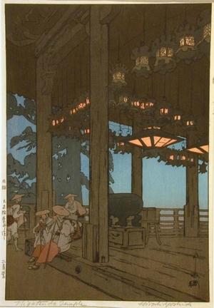 Yoshida Hiroshi: Nigatsudo Temple - Art Gallery of Greater Victoria
