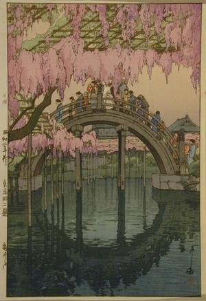 吉田博: Kameido Bridge - Art Gallery of Greater Victoria