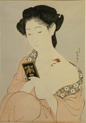 Hashiguchi Goyo: Woman at Toilette - Art Gallery of Greater Victoria