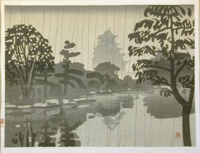 橋本興家: Okayama Castle No. 8 - Art Gallery of Greater Victoria