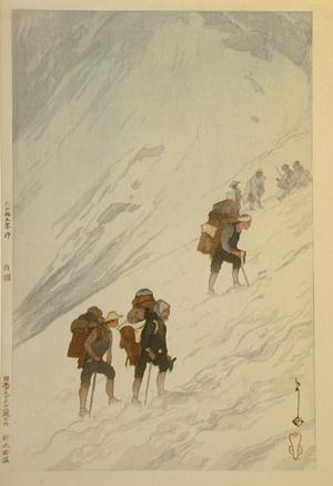 Yoshida Hiroshi: Climbing Snow Valley at Harinoki - Art Gallery of Greater Victoria
