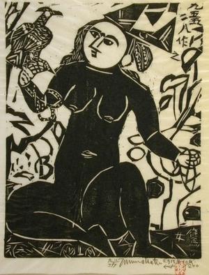 Munakata Shiko: Hawk Woman - Art Gallery of Greater Victoria
