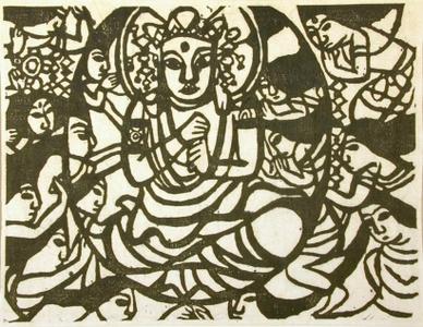Munakata Shiko: Dainichi Nyorai - Art Gallery of Greater Victoria