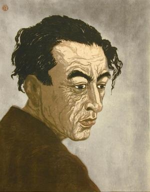 Onchi Koshiro: Portrait of the Poet Hagiwara Sakutaro - Art Gallery of Greater Victoria