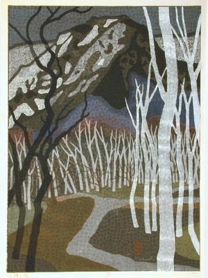 馬淵聖: White Birch Road - Art Gallery of Greater Victoria