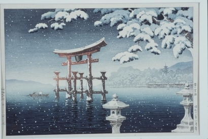Tsuchiya Koitsu: Miyajima in the Snow - Art Gallery of Greater Victoria