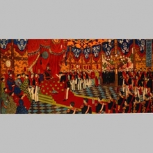 Adachi Ginko: Imperial Audience with Meiji Emperor - Art Gallery of Greater Victoria