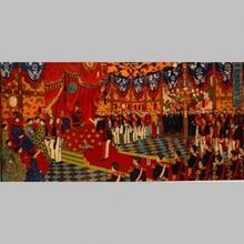 安達吟光: Imperial Audience with Meiji Emperor - Art Gallery of Greater Victoria