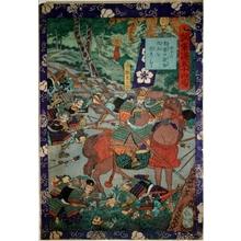 Utagawa Yoshitsuya: Gathering Severed Heads - Art Gallery of Greater Victoria