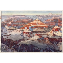 吉田博: Grand Canyon - Art Gallery of Greater Victoria