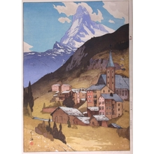 吉田博: The Matterhorn - Art Gallery of Greater Victoria