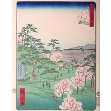 Utagawa Hiroshige II: #13. Asukayama - Art Gallery of Greater Victoria