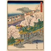 二歌川広重: #18. Shin-Yoshiwara - Art Gallery of Greater Victoria