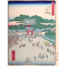 Utagawa Hiroshige II: #33. Zojoji - Art Gallery of Greater Victoria