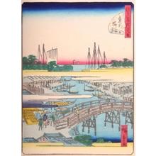 Utagawa Hiroshige II: #34. Kanasugibashi - Art Gallery of Greater Victoria