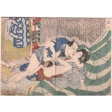 Unknown: Shunga Print - Art Gallery of Greater Victoria