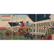 Utagawa Kuniteru: Opening of Tokyo Daiichi University - Art Gallery of Greater Victoria