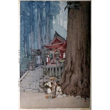 吉田博: Misty Day in Nikko - Art Gallery of Greater Victoria
