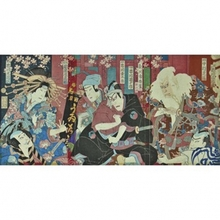 Kuniume Toshinobu: Scene from a Kabuki Play - Art Gallery of Greater Victoria