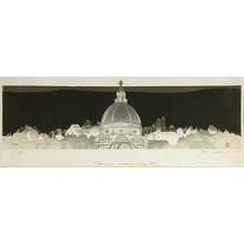 Junichiro Sekino: Florence Evening Silhouette - Art Gallery of Greater Victoria