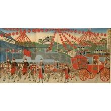 渡辺延一: Celebration of the Emperor Meiji's Silver Wedding Anniversary - Art Gallery of Greater Victoria