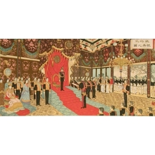 Adachi Ginko: Ceremony on the Occasion of the Meiji Emperor's Silver Wedding Anniversary - Art Gallery of Greater Victoria