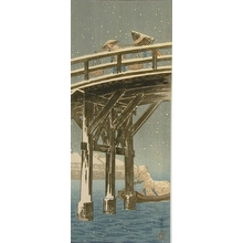 Shotei Takahashi: Bridge with Snow - Art Gallery of Greater Victoria