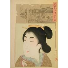Toyohara Chikanobu: Lady of the Houreki Era (1751-1764) - Art Gallery of Greater Victoria
