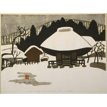 Kiyoshi Saito: Winter in Aizu, No. 6 - Art Gallery of Greater Victoria