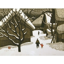 Kiyoshi Saito: Winter in Aizu, No. 11 - Art Gallery of Greater Victoria