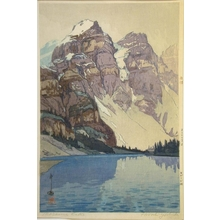 吉田博: Lake Moraine - Art Gallery of Greater Victoria